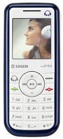 Sagem my215X weiß/blau