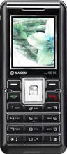 Sagem my401-X  black