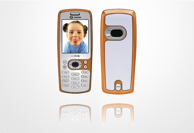 Sagem Cover Velvet Orange