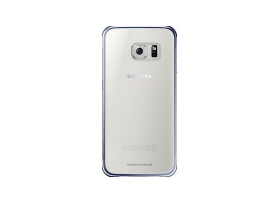Samsung Clear Cover EF-QG920 für Galaxy S6, Schwarz