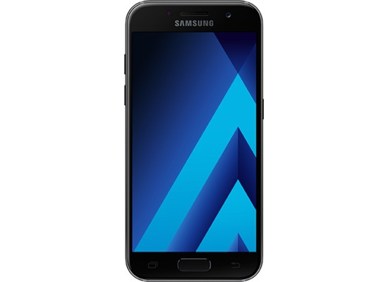 Samsung Galaxy A3 (2017) - black-sky