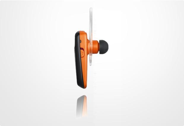 Samsung Bluetooth Headset WEP-495, orange-schwarz