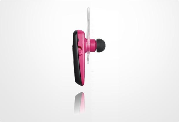 Samsung Bluetooth Headset WEP-495, pink-schwarz
