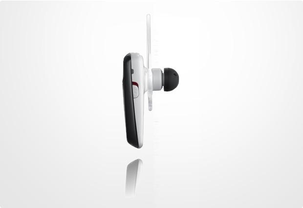 Samsung Bluetooth Headset WEP-495, wei�-schwarz
