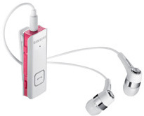 Samsung Bluetooth Stereo Headset HS3000, weiß-pink