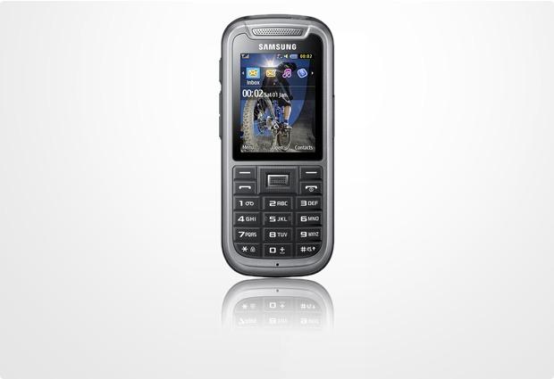 Samsung C3350, steel-gray