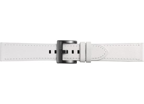 Samsung Classic Leather Armband Strap Studio, 20mm Gear Sport/Galaxy Watch, white