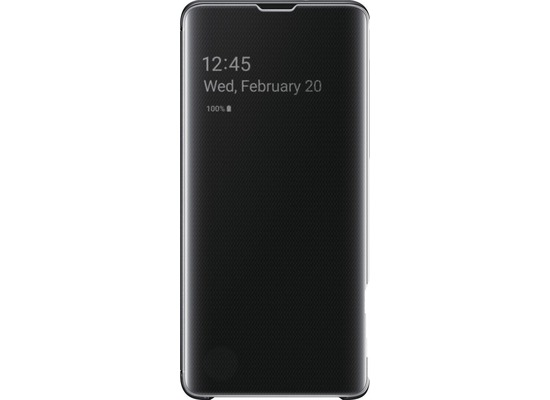 Samsung Clear View Cover Galaxy S10, black