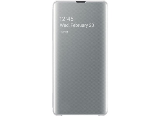 Samsung Clear View Cover Galaxy S10+, white