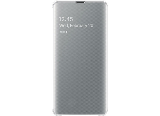Samsung Clear View Cover SM-G977F / Galaxy S10 5G, white