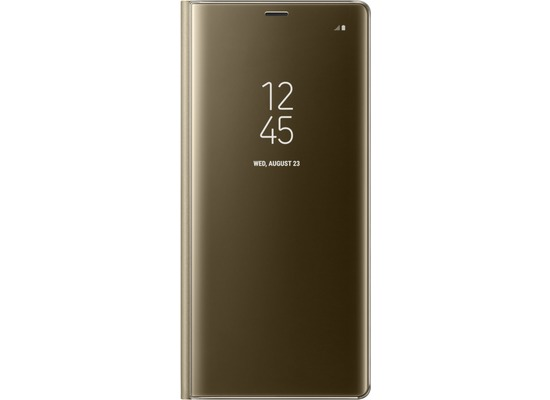 Samsung Clear View Standing Cover - für Galaxy Note 8 - Gold