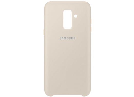 Samsung Dual Layer Cover Galaxy A6 Plus (2018), gold