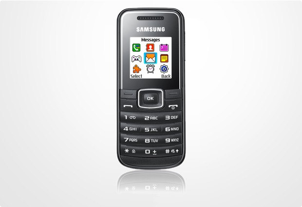 Samsung E1050, schwarz