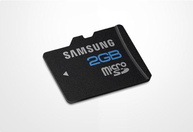 Samsung Essential microSD Card 2GB Class 4