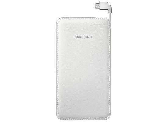 Samsung ext.Akkupack + Micro-USB-Datenkabel, 6.000 mAh, White