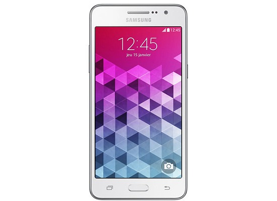 Samsung Galaxy Grand Prime, white