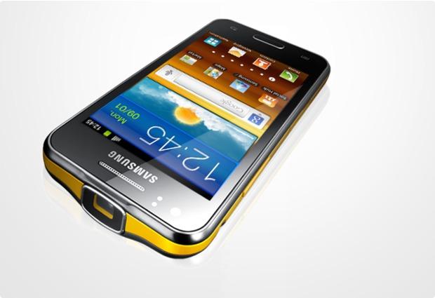 Samsung Galaxy Beam, schwarz-gelb