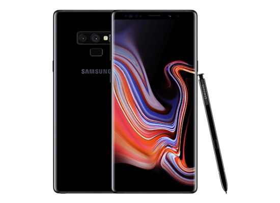 Samsung Galaxy Note 9, 128GB, Midnight Black