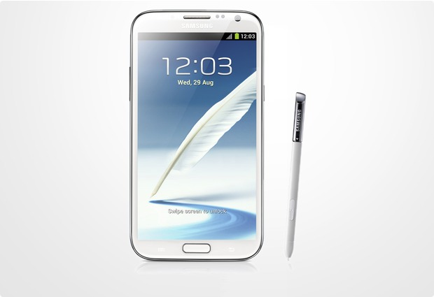 Samsung Galaxy Note 2 16GB, weiß