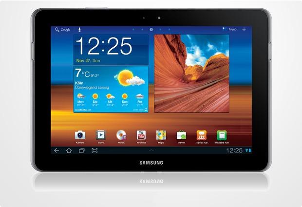 Samsung Galaxy Tab 10.1N 16GB (UMTS), schwarz