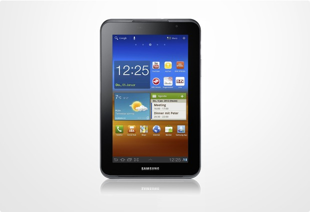 Samsung Galaxy Tab 7.0 Plus N (UMTS), metallic-gray