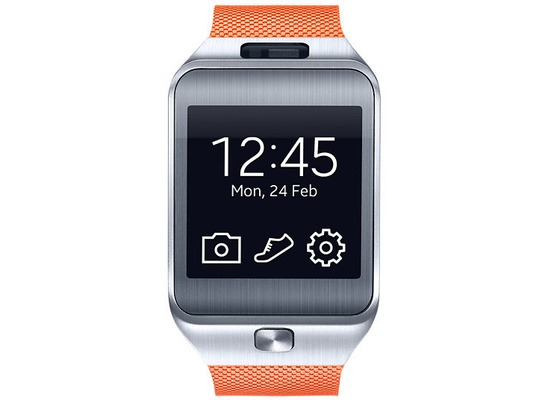 Samsung Gear 2 SM-R380, metallic-orange