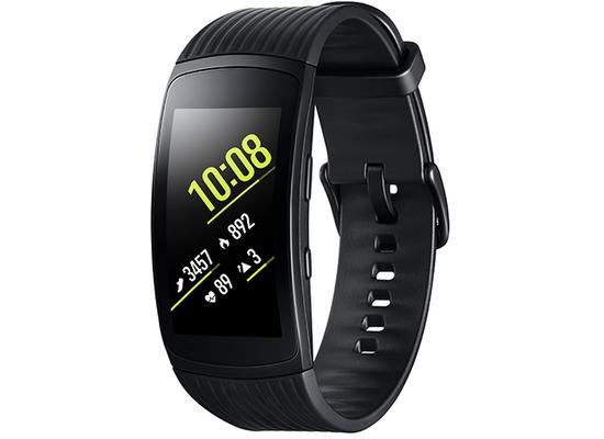 Samsung Gear Fit2 Pro (SM-R365) - Schwarz (Gr.L)