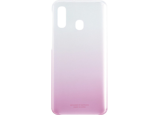 Samsung Gradation Cover Galaxy A40, pink