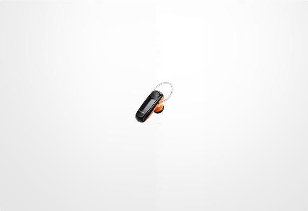 Samsung Bluetooth Headset WEP-490, orange-schwarz