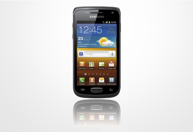 Samsung Galaxy W, soft-black