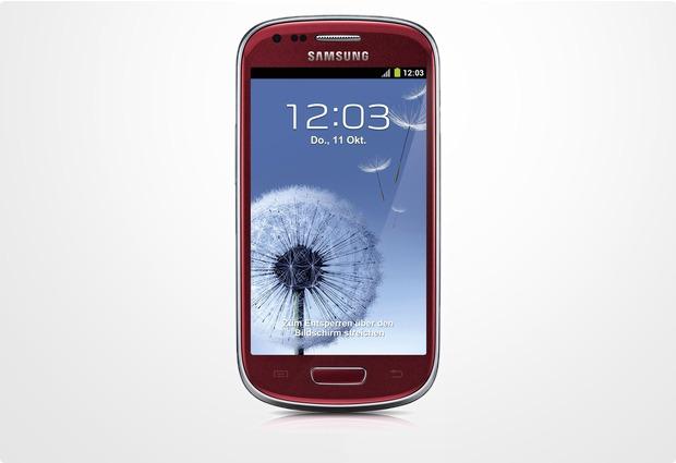 samsung galaxy s3 mini 8gb garnet red bei kaufen versandkostenfrei. Black Bedroom Furniture Sets. Home Design Ideas