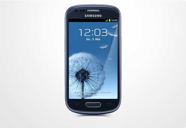 Samsung Galaxy S3 mini (NFC) pebble blue (Telekom) bei ...