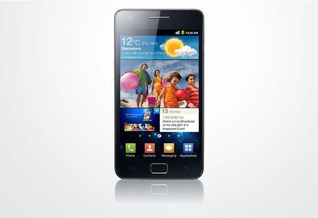 Samsung Galaxy S2 16GB, schwarz NB
