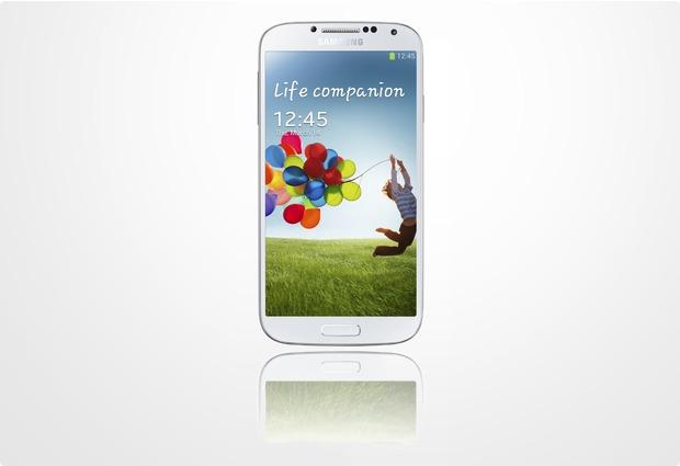 Samsung Galaxy S4 16GB, white frost (O2)