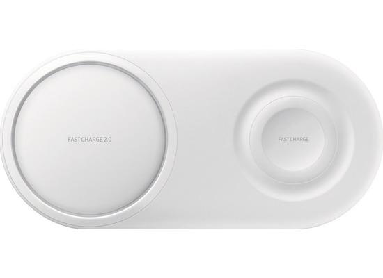 Samsung induktive Dual-Ladestation, EP-P5200 inkl. Ladekabel 25W, white