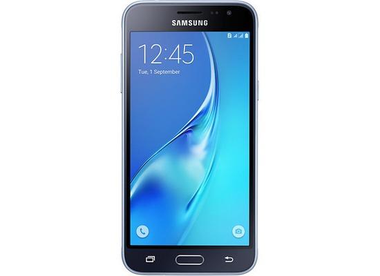 Samsung J320 Galaxy J3 DUOS (2016), 12,63 cm (5 Zoll), schwarz