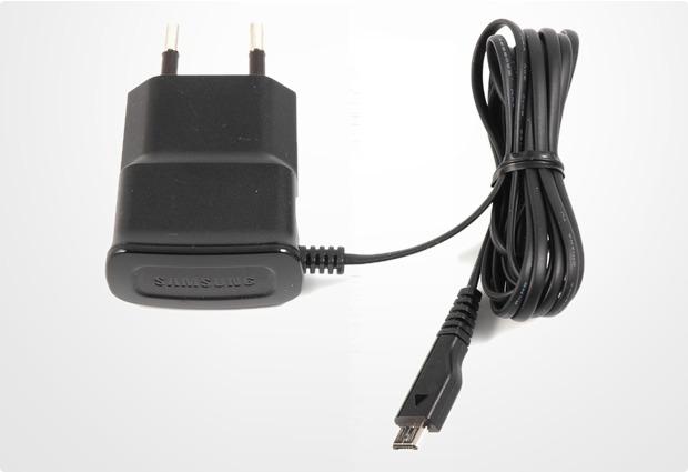 Samsung Mini-Reiseladegerät ETA0U10E (Micro-USB)