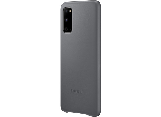 Samsung Leather Cover Galaxy S20_SM-G980, gray