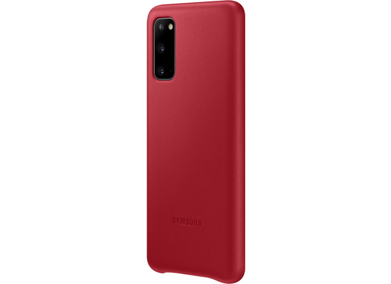 Samsung Leather Cover Galaxy S20_SM-G980, red