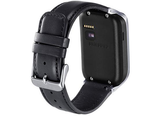 samsung leder armband f r galaxy gear 2 2 neo schwarz bei. Black Bedroom Furniture Sets. Home Design Ideas