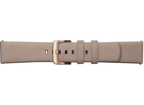 Samsung Leder Armband Urban Dress von Strap Studio (20 mm), Galaxy Watch, rose