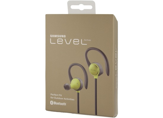Samsung \'\'Level Active\'\' - Stereo-Bluetooth Headset green