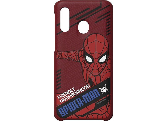 Samsung Marvel Cover \'\'Spider-Man Dynamisch\'\' Galaxy A40, red