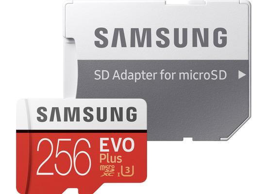 Samsung Micro SD Karte EVO Plus (2020) 256GB