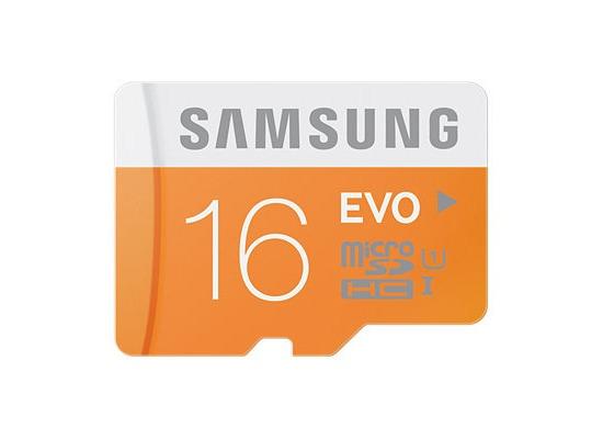 Samsung MicroSD EVO 16GB Class10 48MB/s