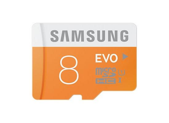 Samsung MicroSD EVO 8GB Class10 48MB/s