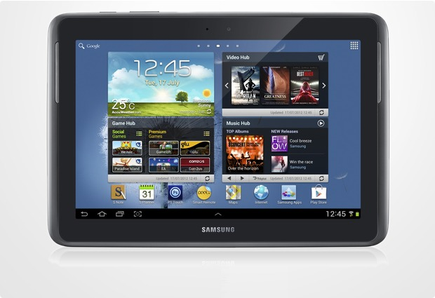 Samsung N8010 Galaxy Note 10.1 16GB (WLAN), grau