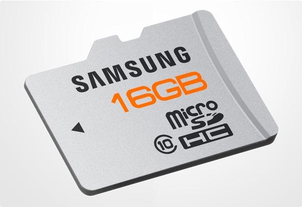 Samsung Plus microSD Card 16GB Class 10
