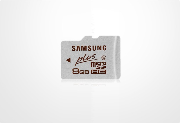 Samsung Plus microSD Card 8GB Class 6