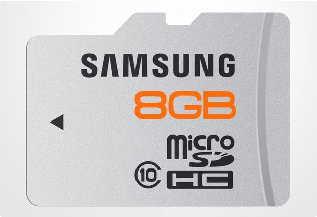 Samsung Plus microSD Card 8GB Class 10